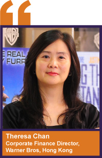 Theresa Chan, corporate finance director